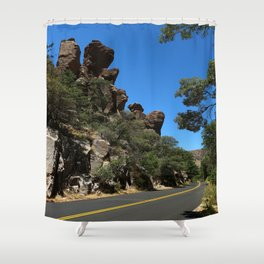 Scenic Bonita Canyon Road Shower Curtain