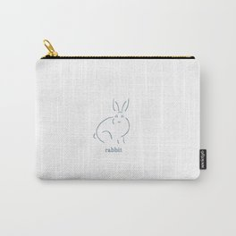 Rabbit Carry-All Pouch