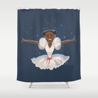 wiz khalifa Shower Curtains featuring when I think of home by squeegool