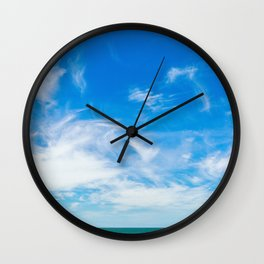 The Great Blue Sky Wall Clock