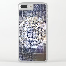 (Was) Green Mold Mandala 4 Clear iPhone Case
