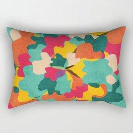 Aloha Camo Rectangular Pillow
