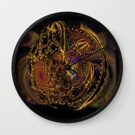 Doin' the Cosmic Boogie Wall Clock