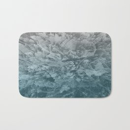 Abstract blue painting Bath Mat