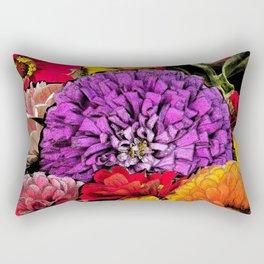 Power Flowers Rectangular Pillow