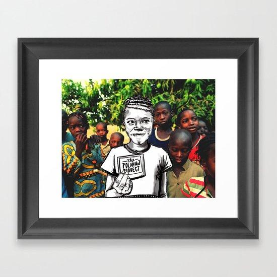 The Polaroad Project Framed Art Print