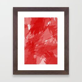 RED HOT CHILI PRINT Framed Art Print