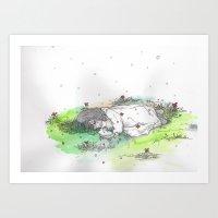 Snow Crash Art Print