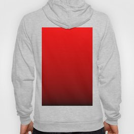 Red Devil Hell and Black Deadly Ombre Nightshade Hoody