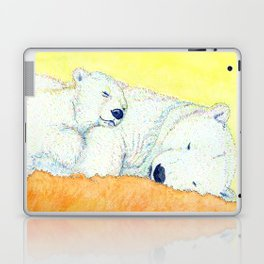 white bear Laptop & iPad Skin