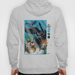 Girl Under The Sea...Love From Above! Hoody