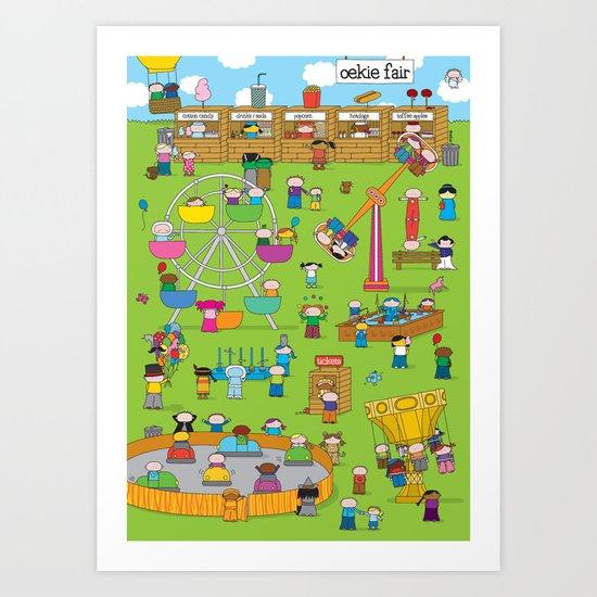 Oekie Fair Art Print
