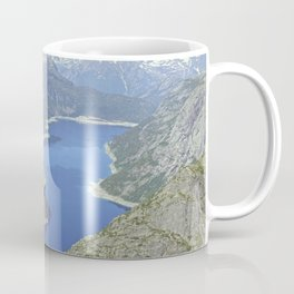 Trolltunga, stunning Norway - Travel Photography Coffee Mug
