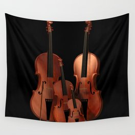 String Instruments Wall Tapestry