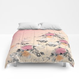 ombre floral - all Comforters