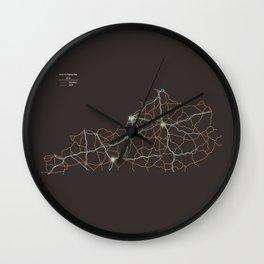 Kentucky Highways Wall Clock