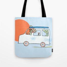 Happy Little Surf Van Tote Bag