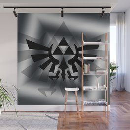 The Legend Of Zelda Logo Wall Mural