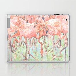 Flamingo Meadow Laptop & iPad Skin
