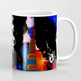 GUITAR MAN:  MUSIC DOESN'T LIE Coffee Mug