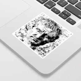 JULIUS CAESAR (BLACK & WHITE VERSION) Sticker
