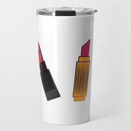 four lipstick Travel Mug