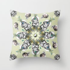 000003 Throw Pillow