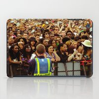 concert iPad Cases featuring Concert Crowd by ThatRaulSanchez