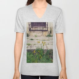 The Flower Lane Unisex V-Neck