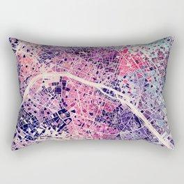 Paris Mosaic map #1 Rectangular Pillow