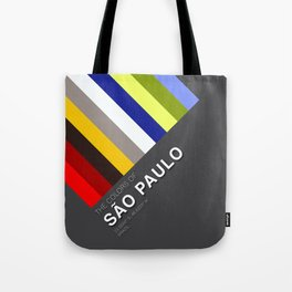 Colors of Sao Paulo Tote Bag