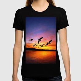 Seagull Sunset T-shirt