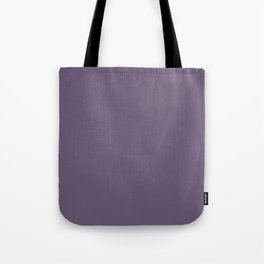 Grape Compote Purple 6B5876 Spring Summer Solid Color Block Tote Bag
