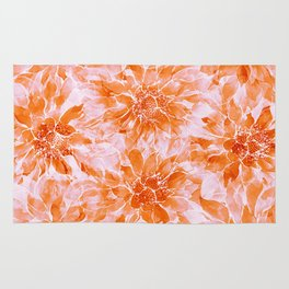 The Smell of Spring 3 / Monochrome / Apricot Rug