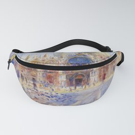 Auguste Renoir - The Piazza San Marco in Venice Fanny Pack