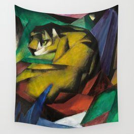 Franz Marc - The Tiger Wall Tapestry