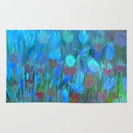 Field of Flowers Moon Glow Rug