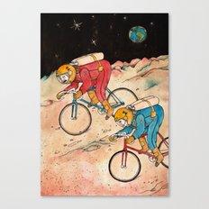 Lunar Keirin Canvas Print