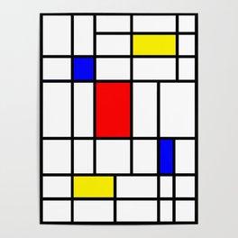 Mondrian #63 Poster
