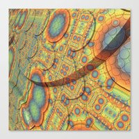 scales Canvas Prints featuring Scales by Lyle Hatch