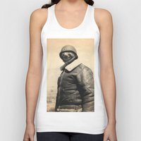general Tank Tops featuring General Sloth by Bakus