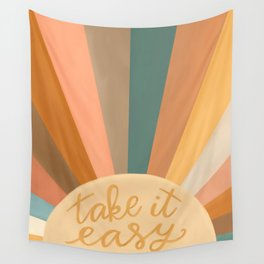 Take It Easy, Sunshine Wall Tapestry