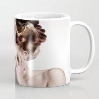 antler Mugs featuring ANTLER by MCGRORY
