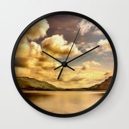 Lake District (4) Wall Clock