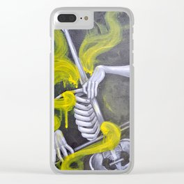 Express Yourself Clear iPhone Case