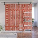 Boho Mud Cloth (Coral) by roxygart