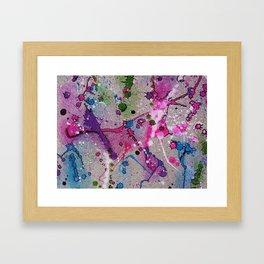 Cement-like Framed Art Print