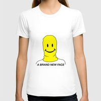 brand new T-shirts featuring Brand New Face by Lauren Perchard