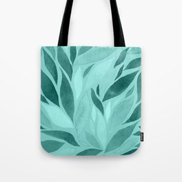 Abstract Watercolour Leaf XVI Tote Bag