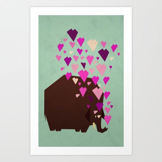 last mammoth Art Print